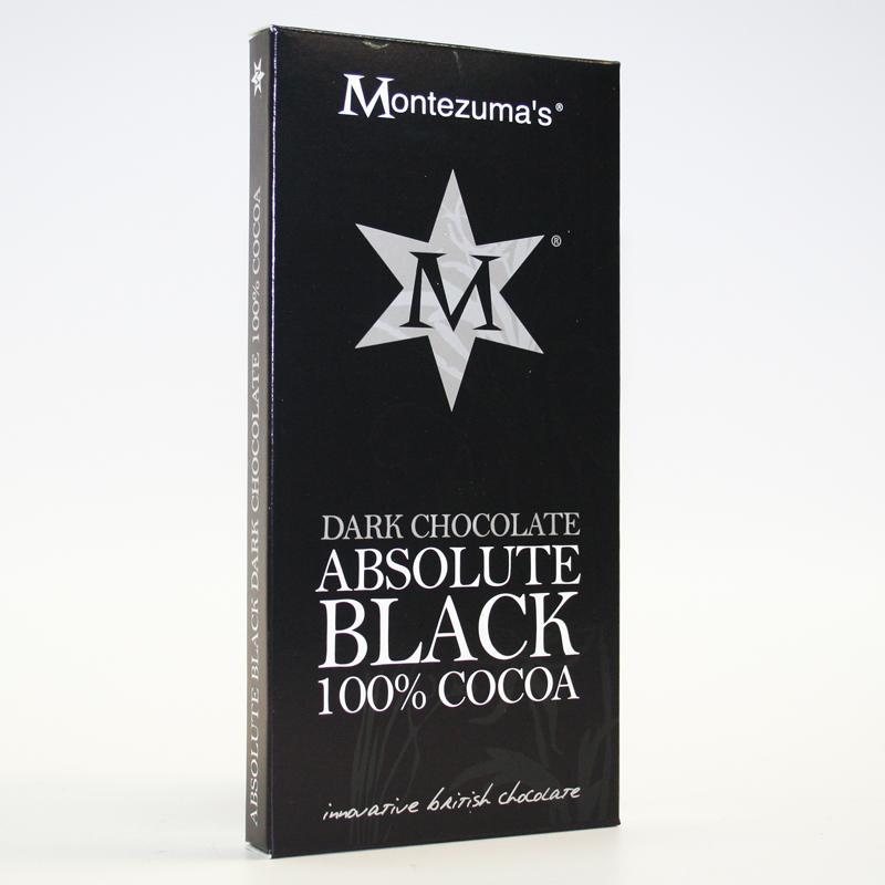 Absolute Black 100% cacau | Montezumas