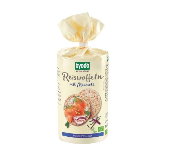Bolachas de arroz c/ sal Bio