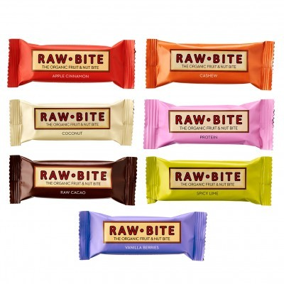 Barras Raw Bite 50g