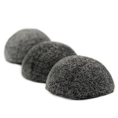 Esponja Konjac Facial com Carvão Ativado