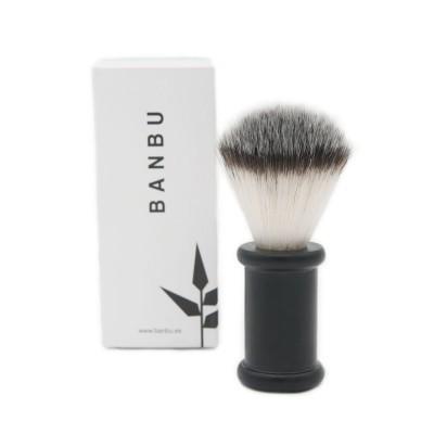 Pincel para Barbear em Aço Inoxidável