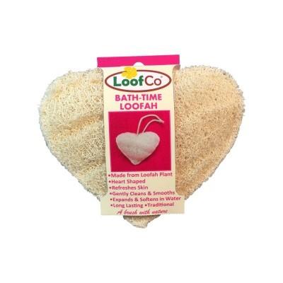 Esponja Biodegradável para Corpo em Coração