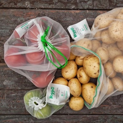 Kit de Sacos Reutilizáveis