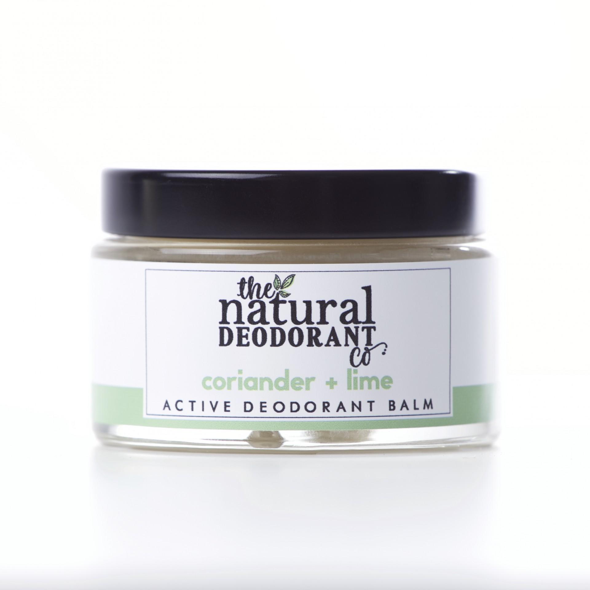 Desodorizante Natural Coentro + Lima - Active - The Natural Deodorant Co