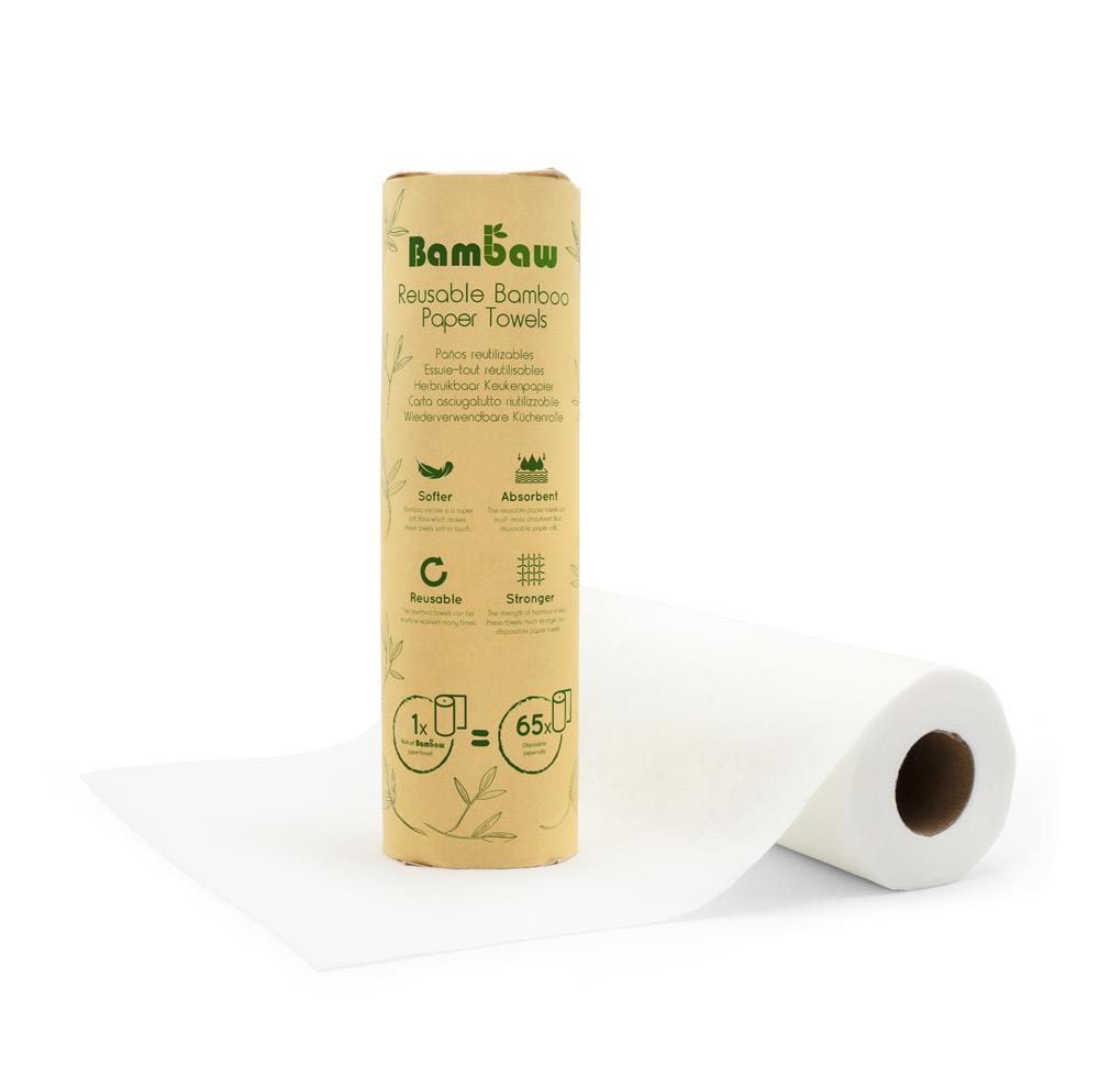 Papel de Cozinha Reutilizável - Bambaw