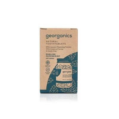 Pastilhas Dentífricas Georganics - Menta Inglesa