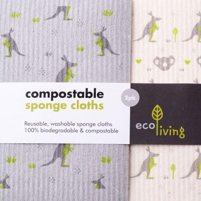 Esponja de Limpeza Compostável - ecoLiving