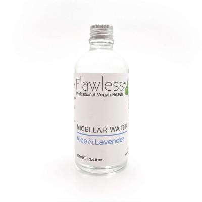 Água Micelar Aloe Vera e Lavanda - Flawless