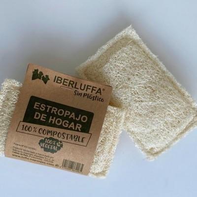 Esponja de Luffa para Loiça - Iberluffa