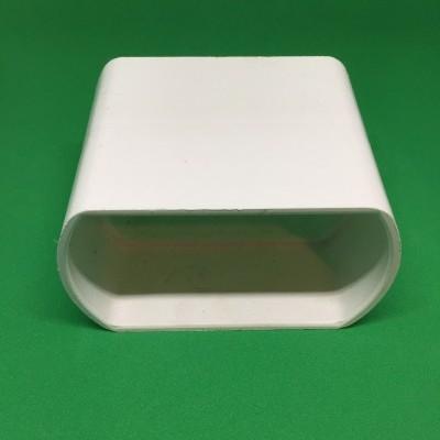 Unión PVC blanca para tubería perforado de 80 mm