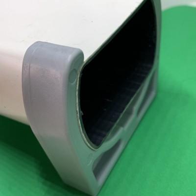 Abrazadera para tubería perforado de 80 mm