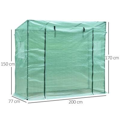 Invernadero vertical 200 x 77 x 170 cm