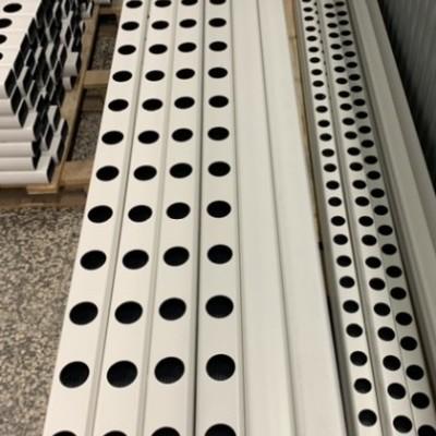 2 metros Perfil Hidropónico Furado de 80 mm