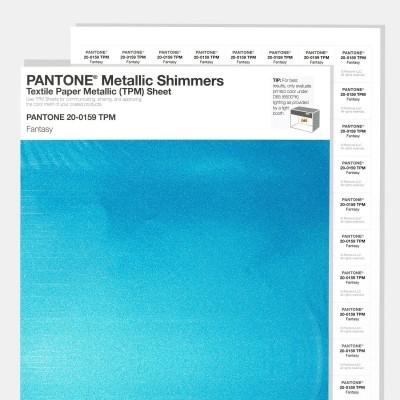 Metallic Shimmers Textile Paper Metallic [TPM] Sheet