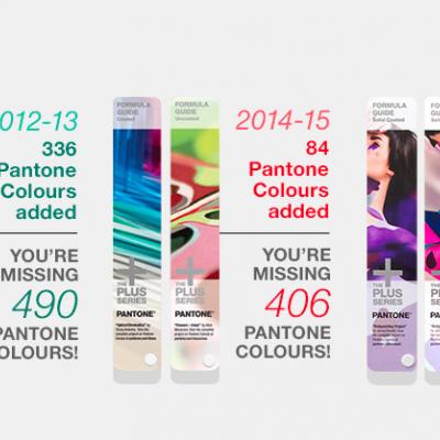 Novas cores PANTONE, sabe quantas lhe faltam?