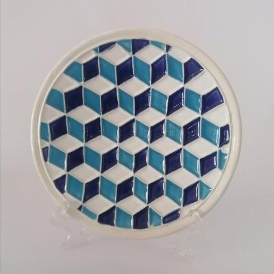 Mini Prato de Cerâmica 3D