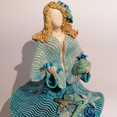 Escultura - Bailarina do Mar