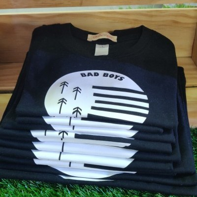 T'shirt Black Bad Boys