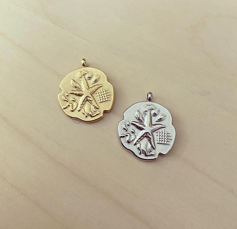 Medalha Irregular Estrela do Mar