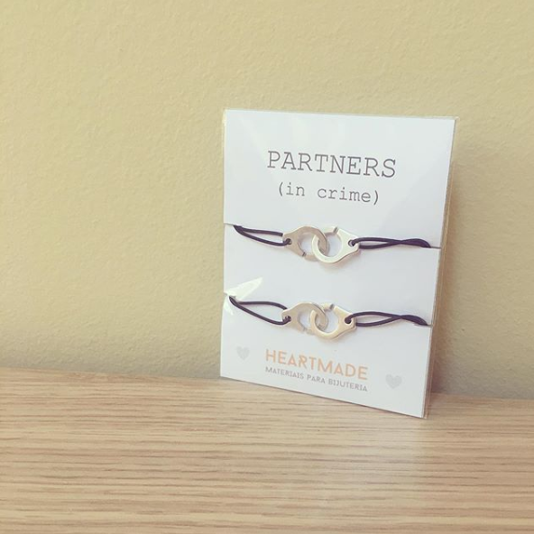 Pack Pulseiras Partners in Crime