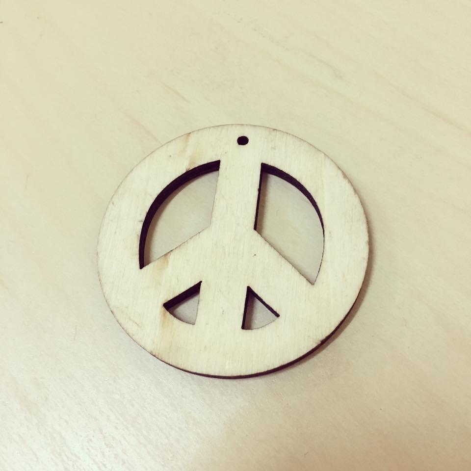 Paz em madeira