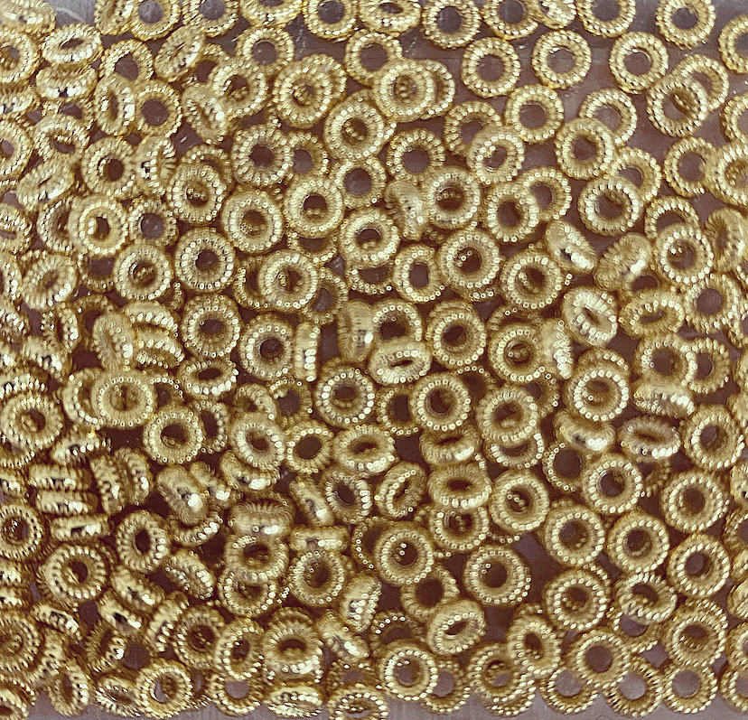 Separador Dourado Arredondado