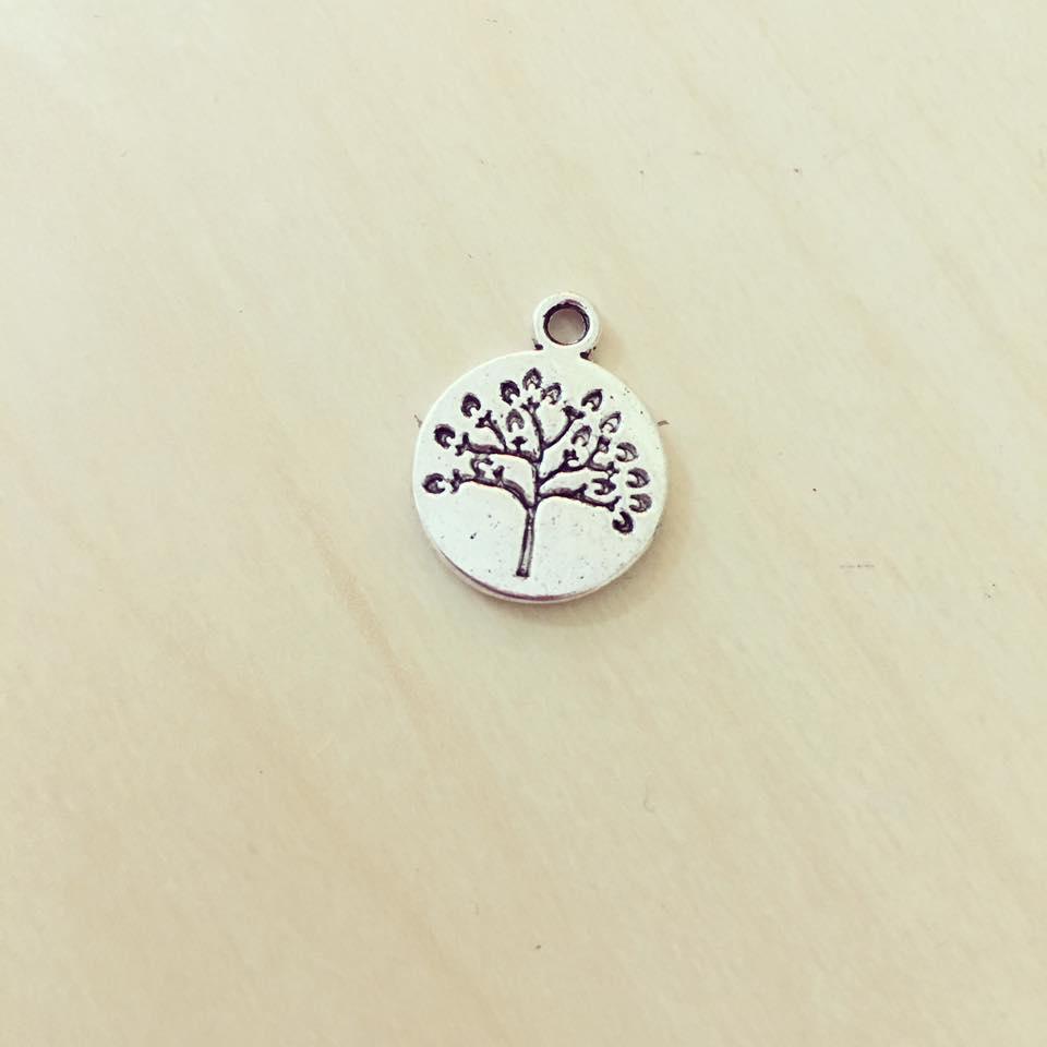 Medalha Árvore Prateada