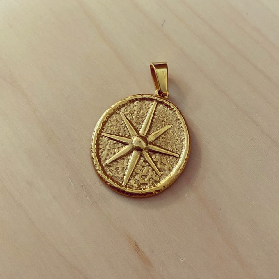 Medalha Aço Estrela