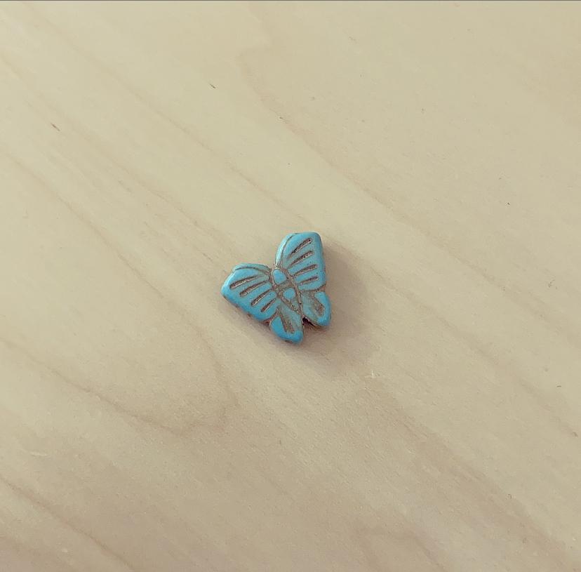 Borboleta Pequena Turquesa