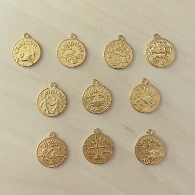 Medalha Signo Dourada