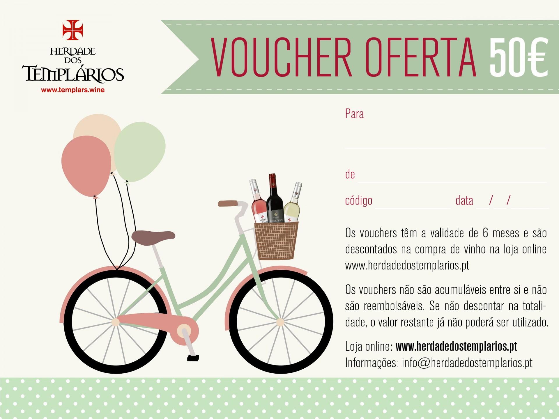 Voucher de Oferta - 50€