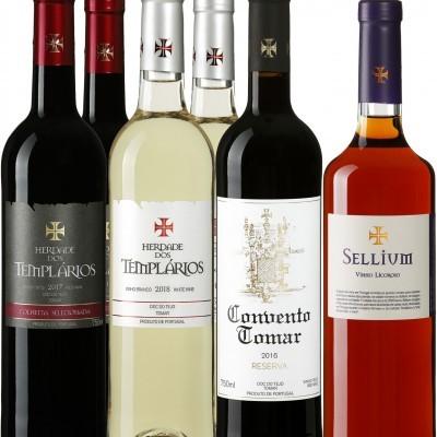 "Pack Degustação ""Premium"" 6gfas mistas vinho"