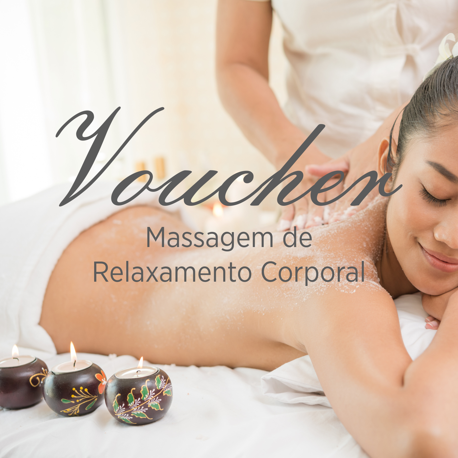 Voucher Massagem de Relaxamento