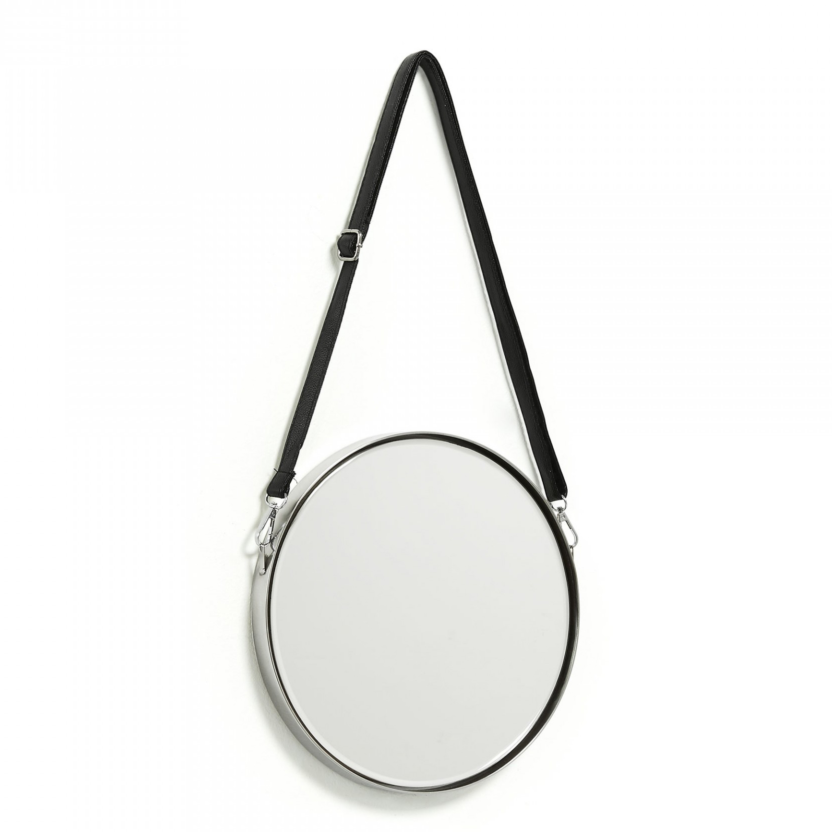 Espelho Elga, metal, Ø30cm