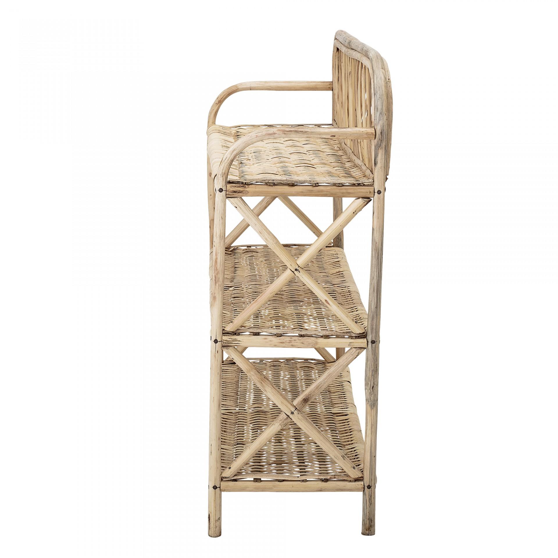 Estante Ezra, cana de bambu, 60x70