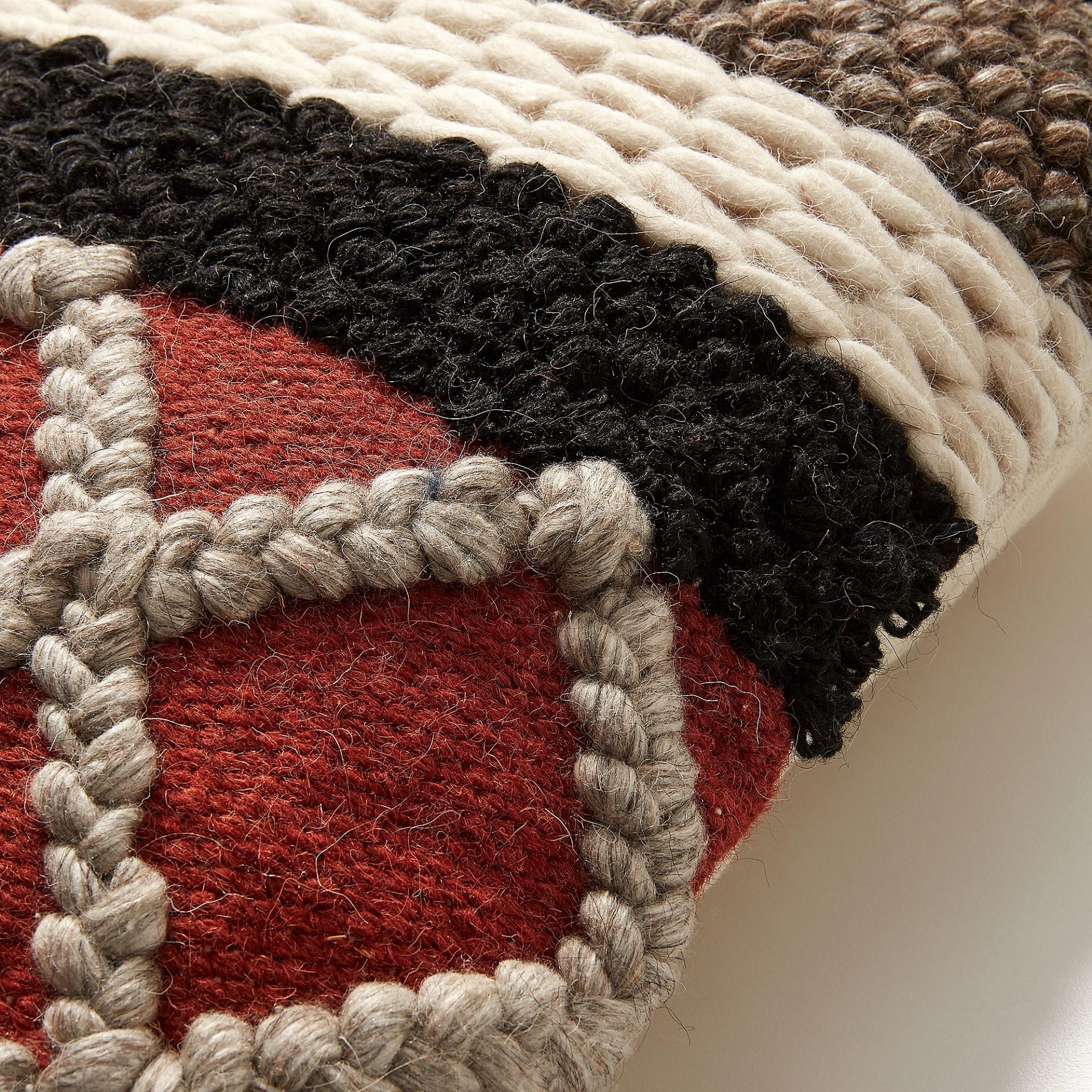 Capa de almofada Genda, multicolor, 45x45
