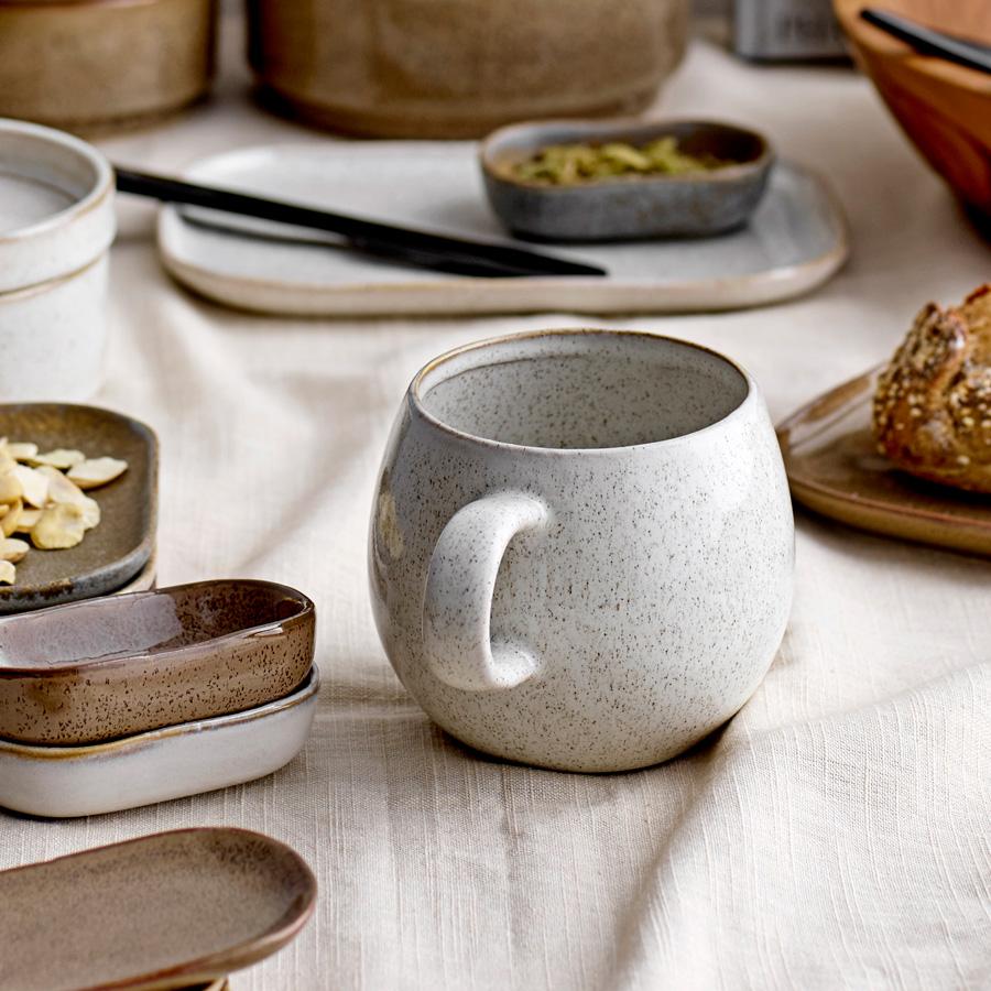 Canecas Addison, Multicolor, porcelana, (Conj.3)