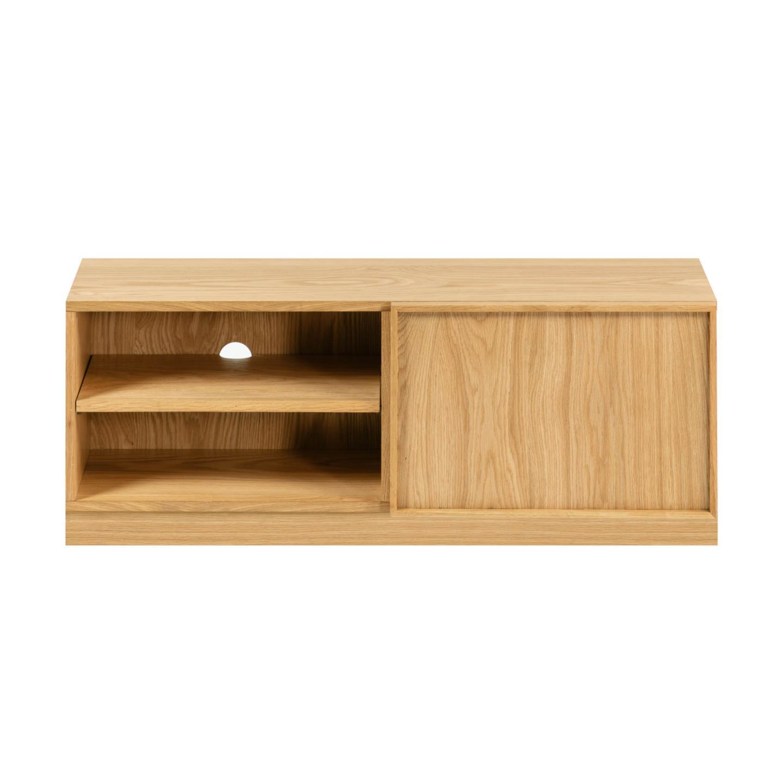 Móvel TV Taia, madeira de carvalho, 112x42x44