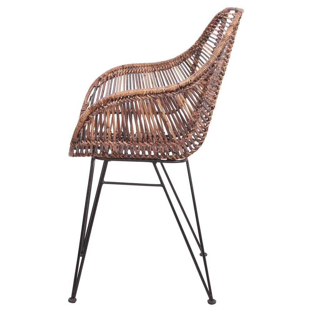 Cadeira Vigo, vime natural