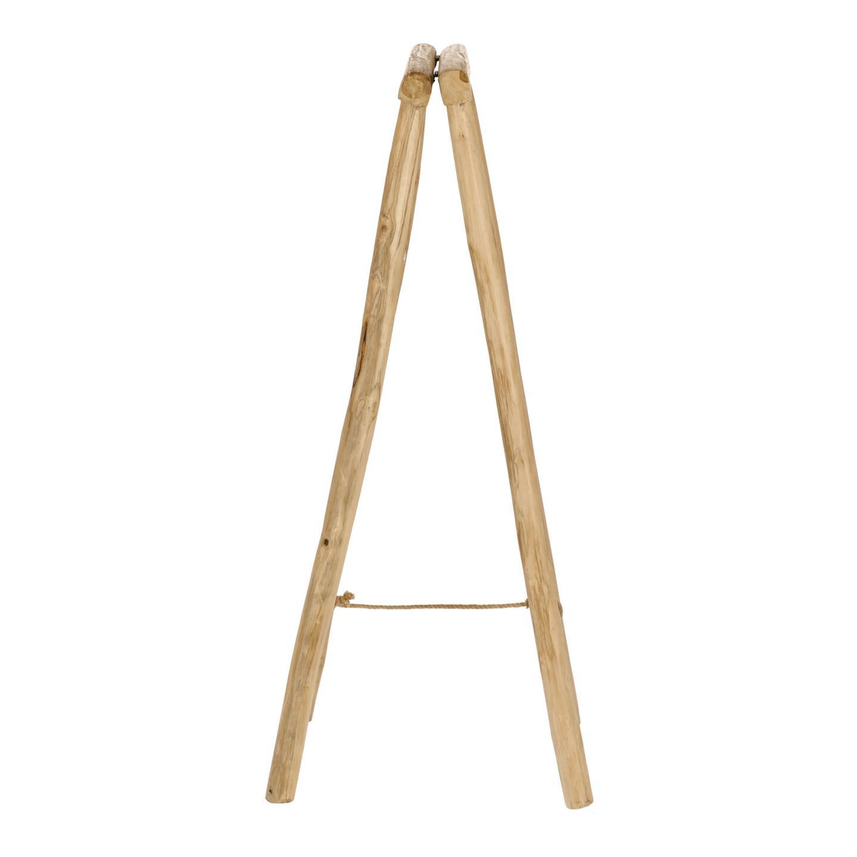 Toalheiro Magui, madeira teca, 50x100