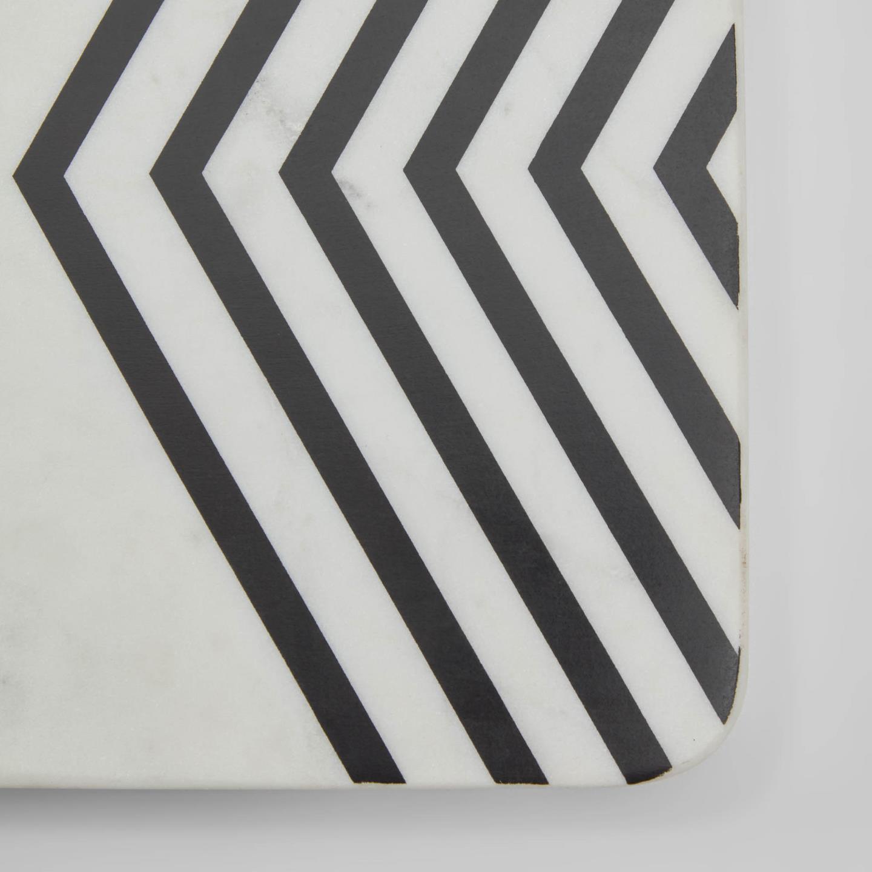 Tábua de cozinha Imer, mármore, 38x23cm