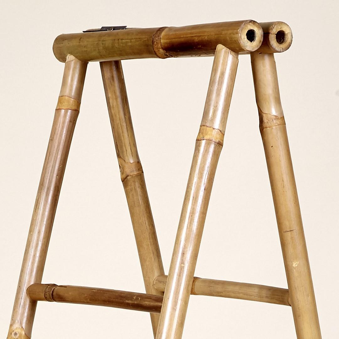Toalheiro Lidi, cana de bambu, 38x170