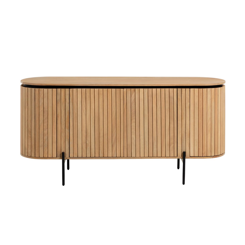 Aparador Lucya, madeira de manga natural, 170x80