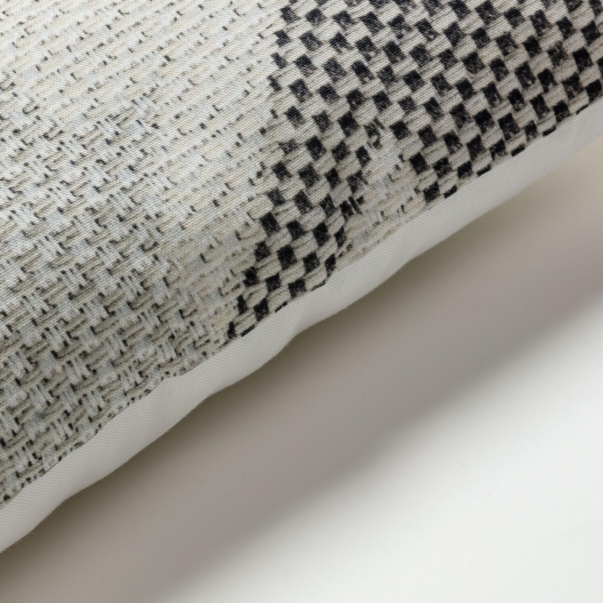 Capa de almofada Howi, cinza, 45x45