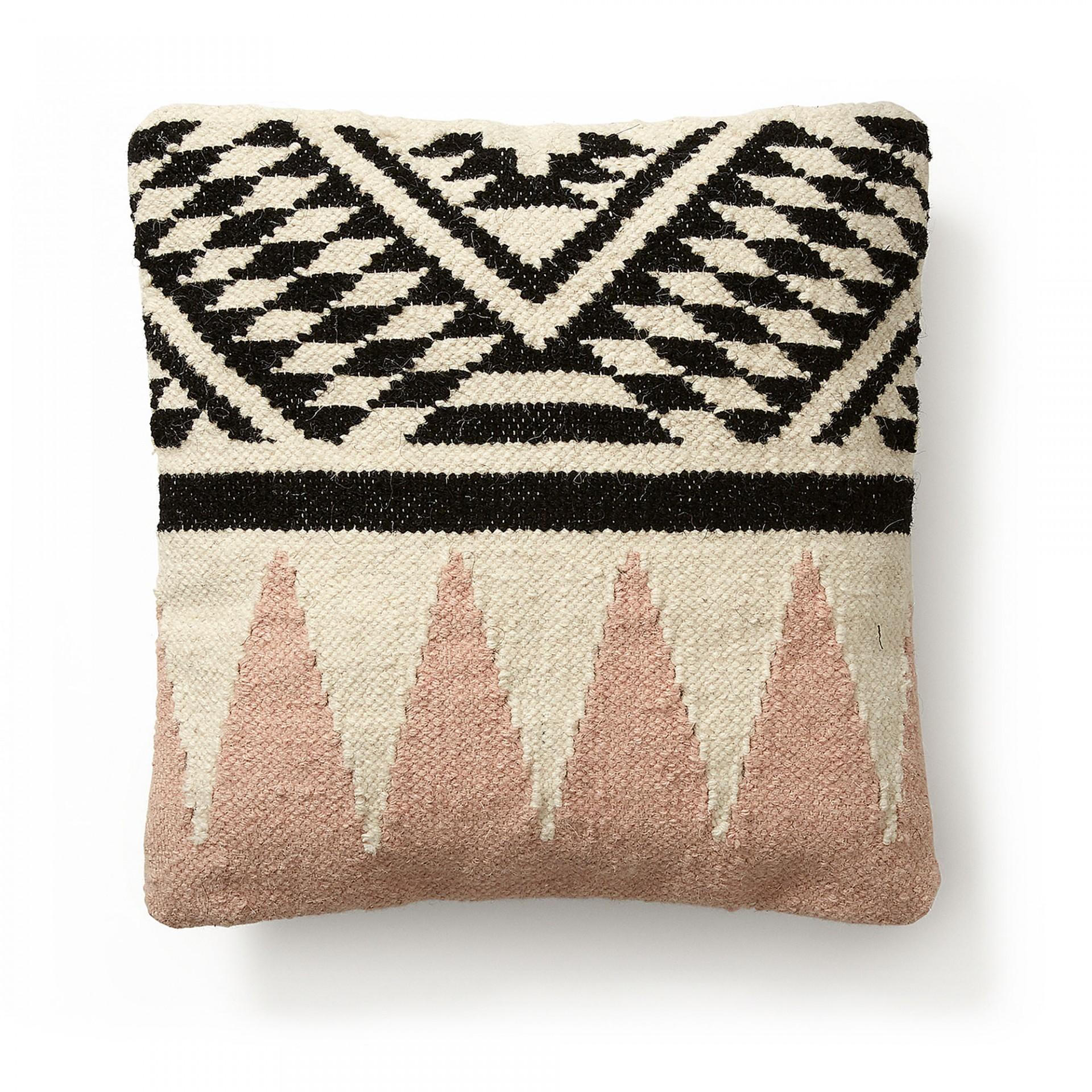 Capa de almofada Fred, algodão, multicolor, 45x45