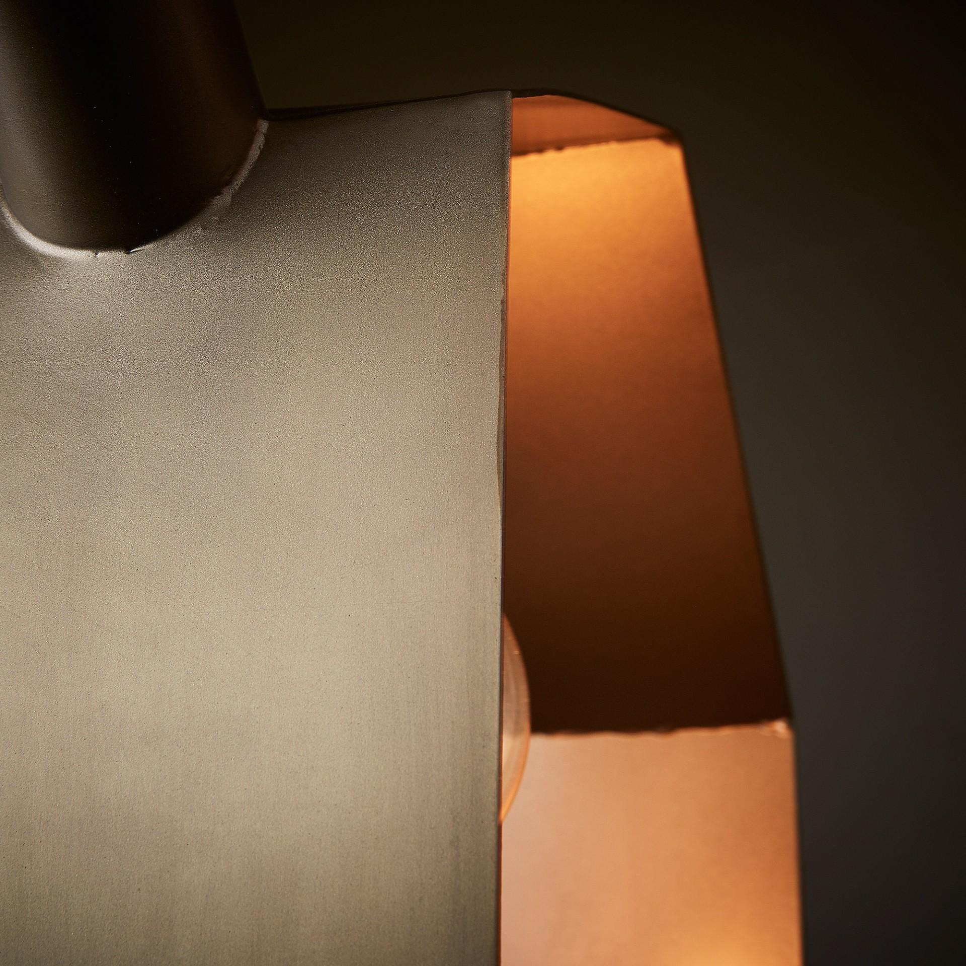 Candeeiro de tecto Wist, metal, 32,5x47