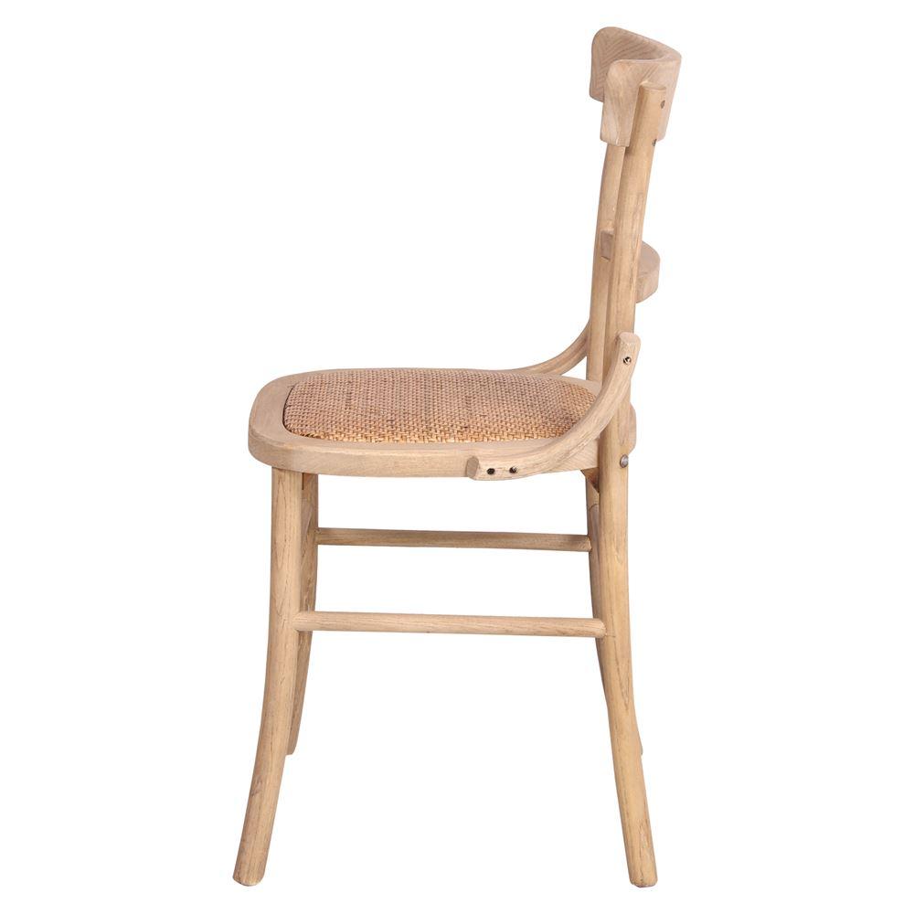 Cadeira Elvus, madeira de olmo