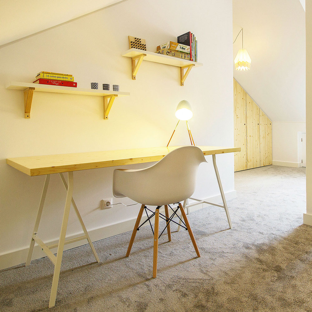 Cadeira Eames Daw, c/braços, branco, 62x52x80