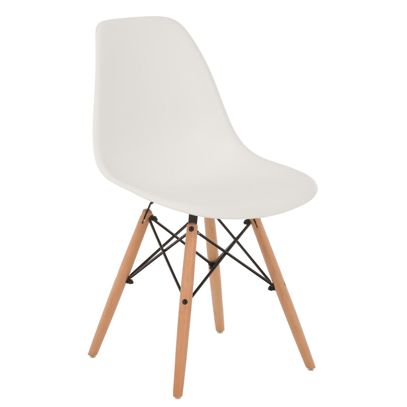 Cadeira Eames DSW, branco