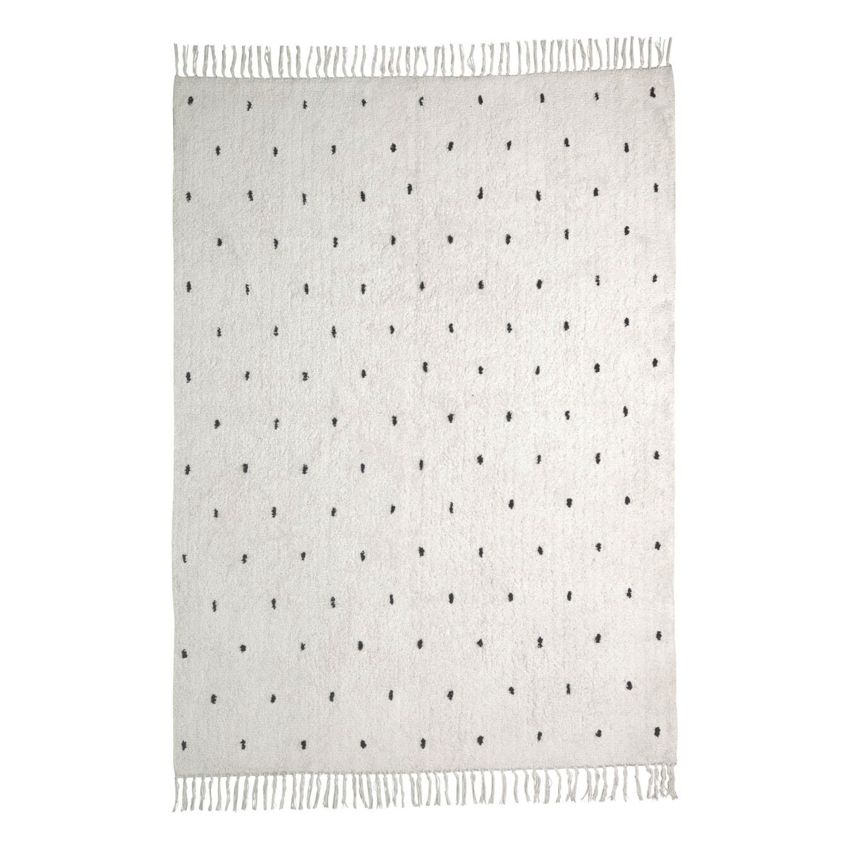 Tapete Merida, algodão, branco, 200x140
